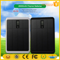 Top Quality Polysilicon Solar Panels Solar Power Bank 26000mAh