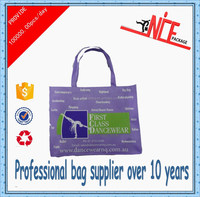 2015 wholesale non woven advertisement bags cloth bag