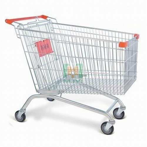 MJYI-B Series European style shopping trolley cart market trolley handle