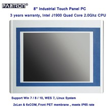 Intel J1900 quad core 8 inch industrial touch panel pc