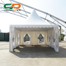 5x5 exquisite pagoda event tent with linings and curtains for sale
