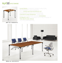 smiple style aluminum conference table factory for 8 people sell directly DY90