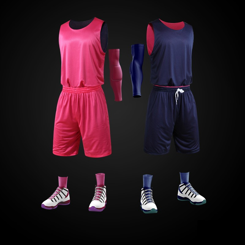 Latest design men custom usa best blank youth sublimation print dry fit reversible basketball jersey uniform cheap wholesale