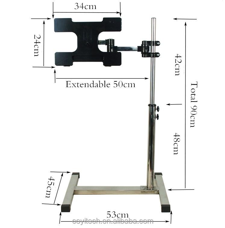 Ajustable port til perezoso port til de escritorio sof cama bandeja soporte de la mesa de la - Soporte portatil sofa ...