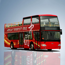 China 11 m 80seats euro 3 city sightseeing bus for sale open top double decker bus