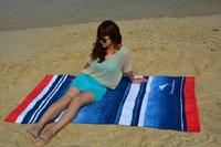 40 by 70 inches mermaid design custom Reactive printing velour Beach Bath towel