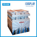 full sides 2 layers merchandise promotion cardboard pallet display racks for electronic equipment
