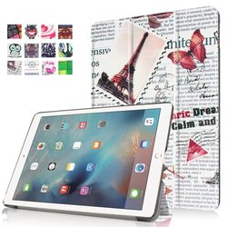 12Color PU Leather Smart Case Cover for Apple iPad Pro 9.7
