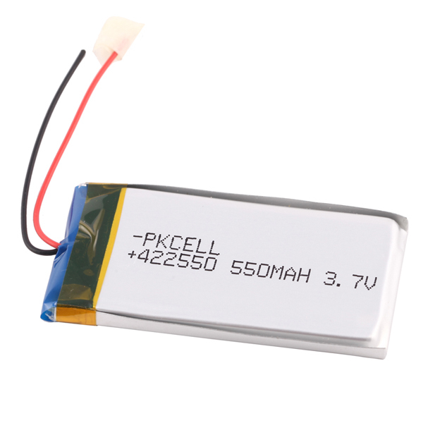 lithiumion polymer battery 3.7v 500mAh rechargeable battery with pcm and wire lipo battery