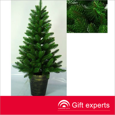 Top quality cheap promotion plastic corrugated christmas tree
