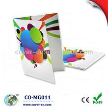 USB music greeting card with customized design for any size