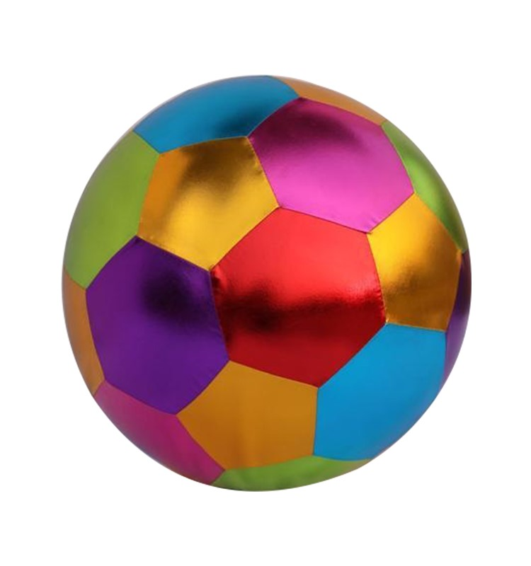 40 cm fabric covered children playing toy football and soccer ball