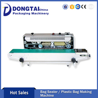 Hot Sale TM-900 Continuous Plastic Bag Heat Sealer Beautiful Appearance