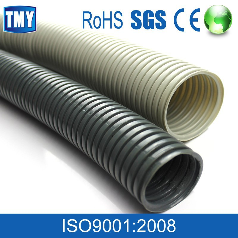 PE single wall corrugated wire cable pipe