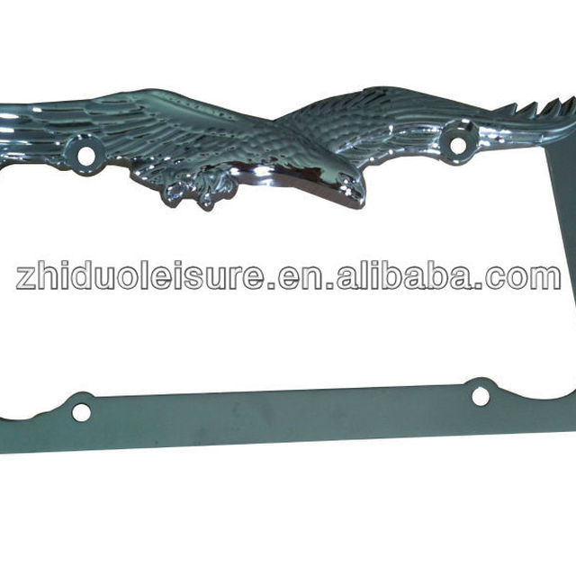 Best quality,The eagle license plate frame