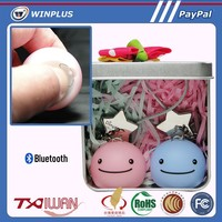Small Bluetooth 4.0 Smartphone Key Chain Smile Face Toy
