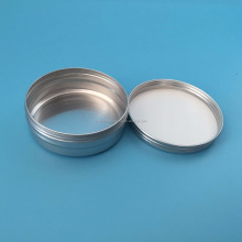 metal screw top tin 2oz/4oz/5oz/6oz,aluminium jar for solid bath lotion,metal can base soap