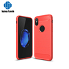 Factory direct supply carbon fiber cell phone case for iphone x