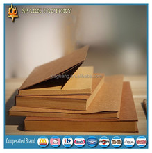 Hot sale A4 A5 A6 customized recycled kraft paper notebook