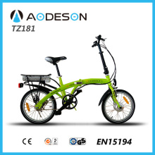 Top Seller Folding E-Bike TZ181 with silent motor for powerful and flexible pedal assistance in all circumstances