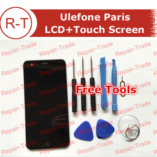 High Quality Ulefone paris LCD Screen HD Original 5.0inch 1280X720 lcd display+Touch Panel Replacement For ulefone paris