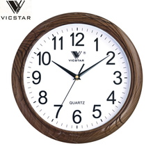 12inch plastic home simple round quartz wall clock