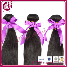 best selling supply 100%mink products 100% natural brazilian indian human price natural black straight hair weave