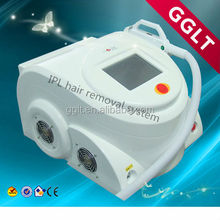 portable ipl + e-light + shr laser beauty machine for salon use