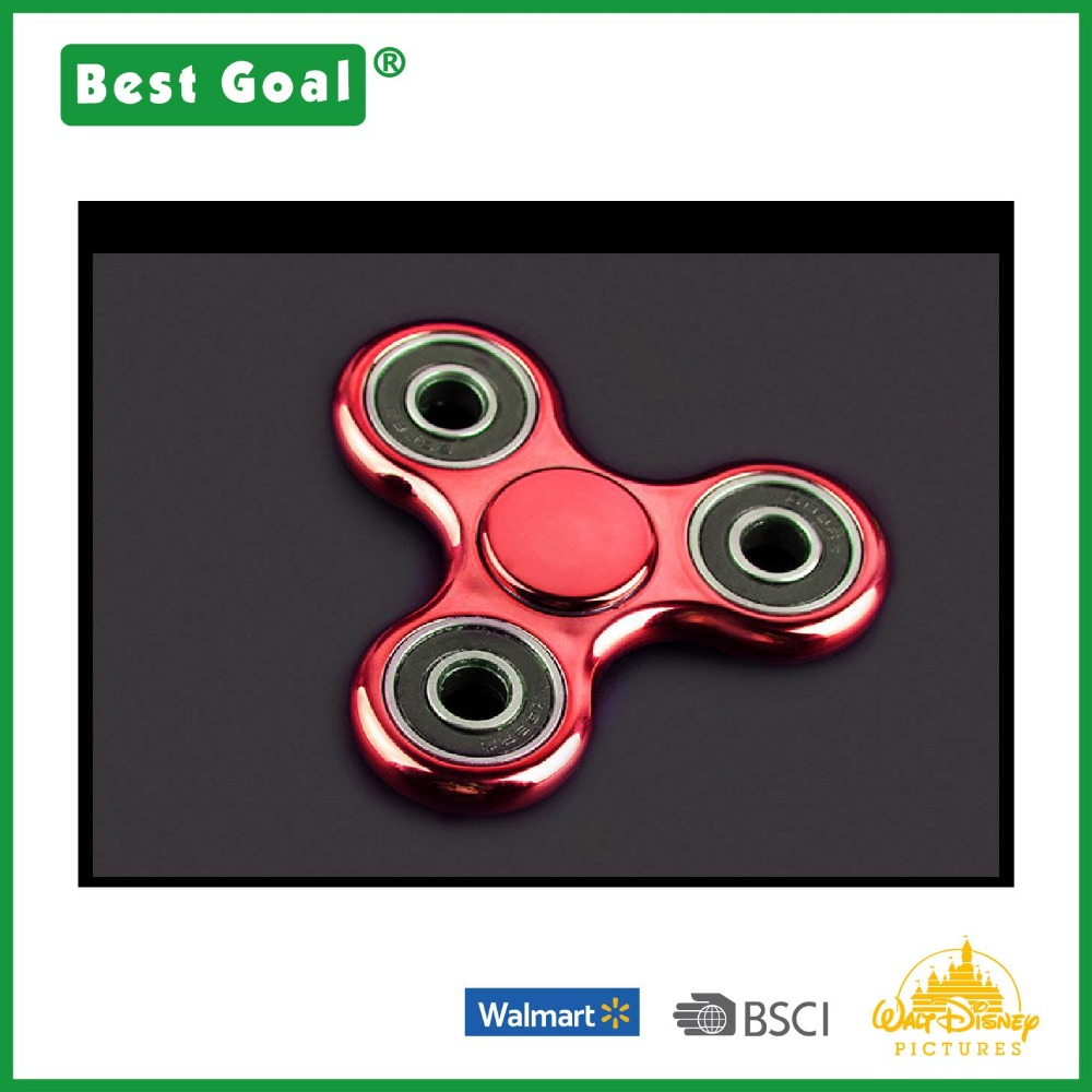 Crazy High Speed Tri Fidget Hand Spinner Toy for anxiety relief