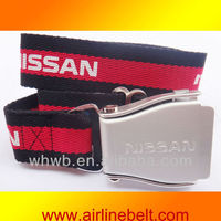 38mm 2013 new design high quality custom canvas belts