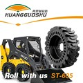 solid otr tire 23.5-25 wheel loader tire with hole
