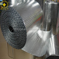 Air Cell Insulation Polyester Bubble Foil Insulation Thermal Aluminum Bubble Foil Material Heat Insulation