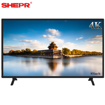 factory direct sale big size FHD Flat Screen 85 inch LED TV smart LCD tv for Android 4.4