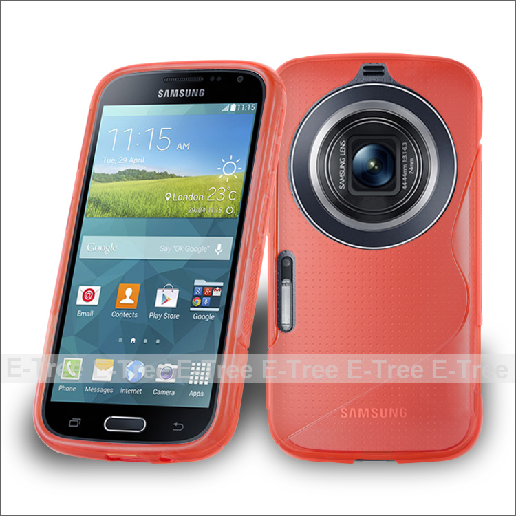 Flexible S Line Slim TPU Soft Phone Case Cover For Samsung Galaxy S5 Zoom C115