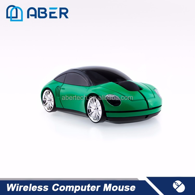 New Car Shape High Quality USB 2.4G 1600DPI 3D Optical Wireless Mouse