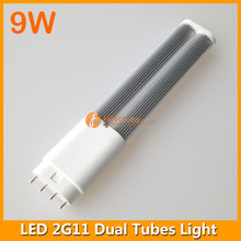 9w 4 pin pl lamp 2835 smd 2g11 led tube fpl replacement
