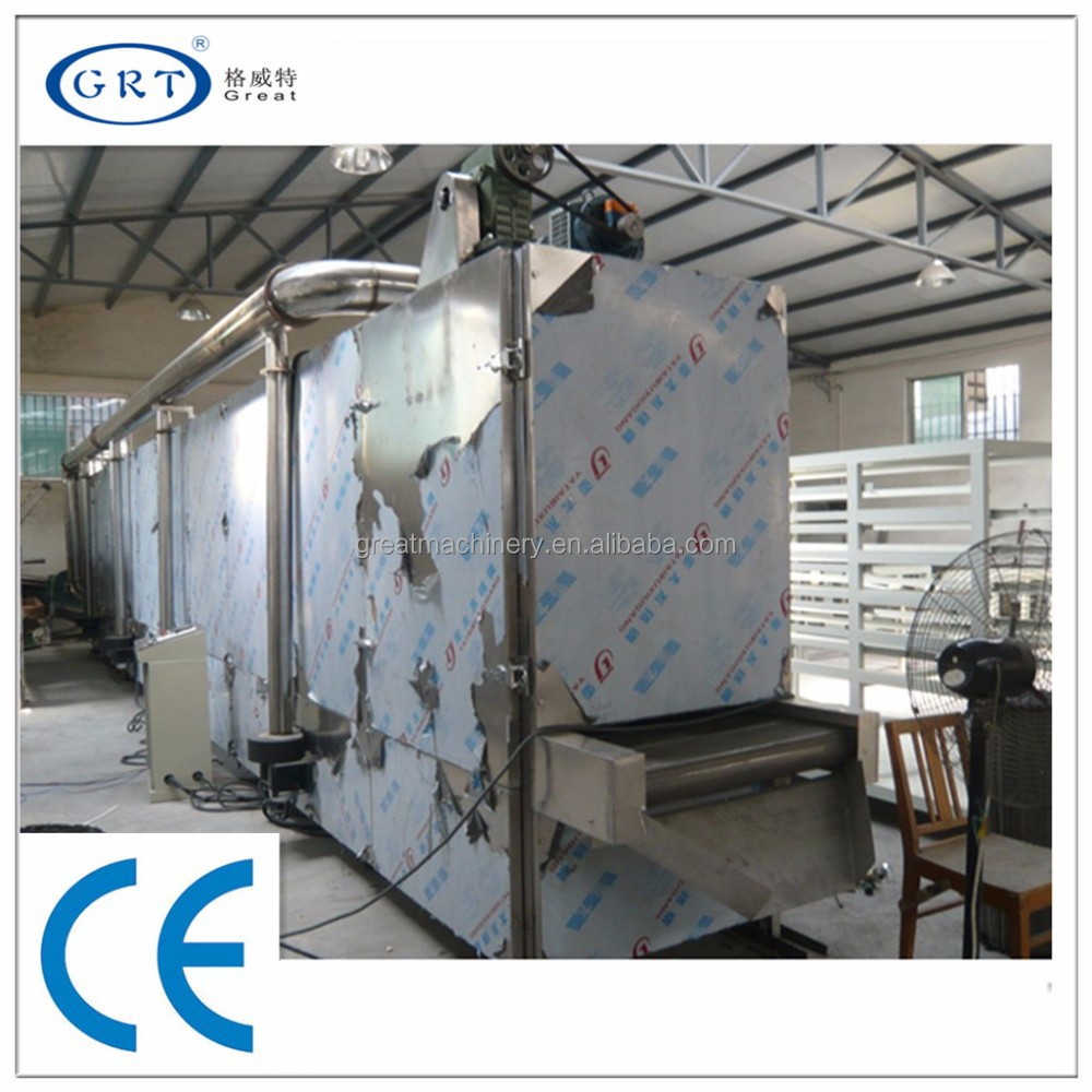 CE industrial Beef stew-Lily belt hot air dryer /drying machine/drying equipment