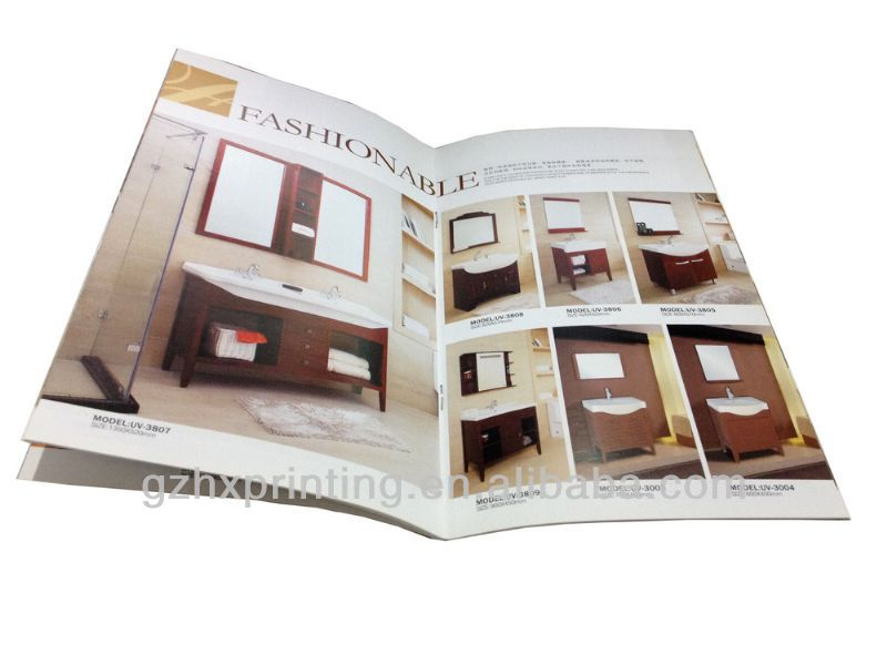 A4 fashion household/family furniture brochure design