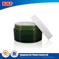Wholesale 30ml/50ml 90ml Plastic Cosmetic cream jar with screw cap made in China
