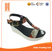 China Brand New Style Ladies Sandal Platform Shoes