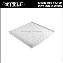 Automoblie parts cabin air filter for Fiat palio ( 178bx ) 1.4L. OEM NO.7082301/ 7082928/ 71771732/ C30249/ 1987432183.