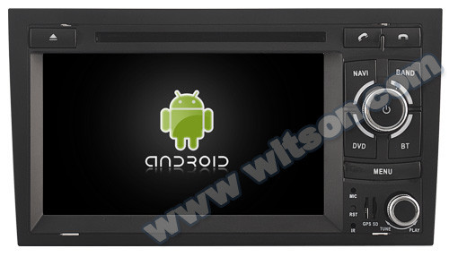 WITSON Android 4.4 FOR AUDI A4 HEAD UNIT CAR DVD 2002-2008 8GB Inand CAPACTIVE Screen WiFi 3G GPS