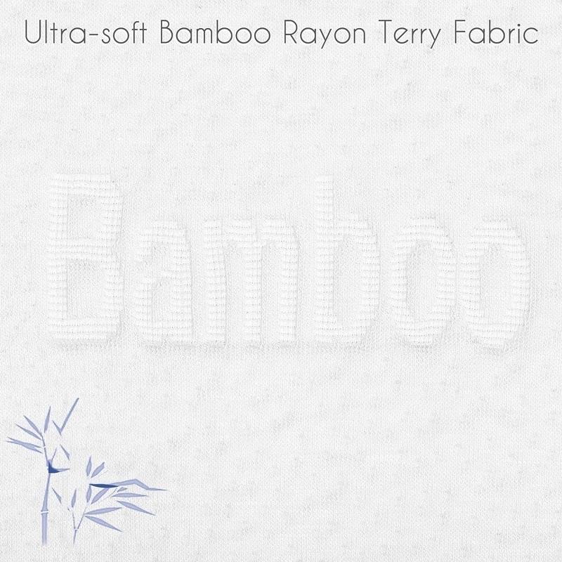 Luxurious Rayon From 100% Organic Bamboo Mattress Protector Pad - Jozy Mattress   Jozy.net