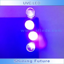Water Clear UV LED Diode,360nm,370nm,380nm uv laser diode,5mm UV LED