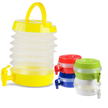 High Quality BPA Free Healthy Collapsible Beverage Dispenser Bottle