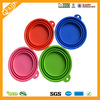 Factory Wholesale BPA Free Collapsible Silicone Pet Feeding Bowl