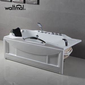 WTM-02201 Hotel Use Sexy Japanese Water Apron Hydro Massage Bathtub For Sales