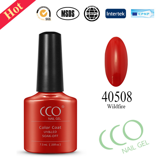 CCO nail gel can be curing with led /uv lamp nail gel polish