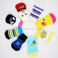 Good reputation fashionable best pet socks and shoes knitting pet socks for dog