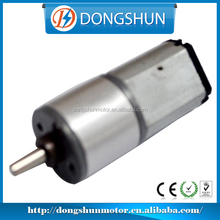 3v 16mm DS-16RS030 27mm low cost central shaft 120:1 metal gears small 12V electric dc motor for electric lock